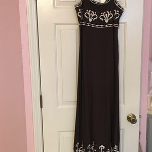 Beautiful Long, beaded, embroidered dress